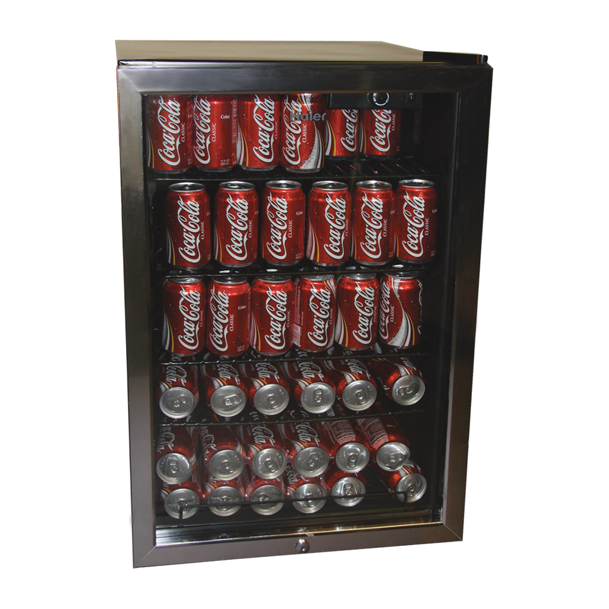 Haier HBCN05FVS Beverage Center outside look