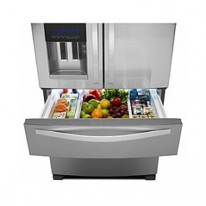 Whirlpool WRX735SDBM French Door Refrigerator drawer