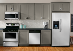 Frigidaire FFHS2622M Design Finish and Materials