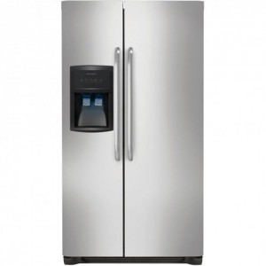 Frigidaire FFHS2622MS - the best side by side refrigerator