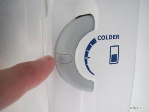 Refrigerator temperature controller