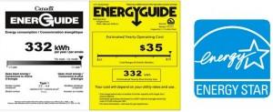 The Igloo Platinum Refrigerator - Energy guide