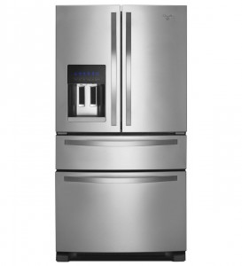 Whirlpool WRX735SDBM - best french door refrigerator