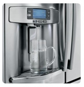 GE Profile PFE28RSHSS 36 inches French Door Refrigerator - filtered water system