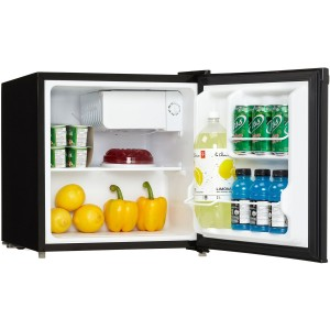 Midea WHS-65LSS1 Mini Fridge - Drawers and Shelves