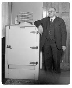 first refrigerators