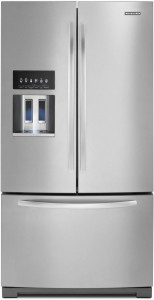 KitchenAid KFIV29PCMS Architect II 28.6 Cu. Ft. Stainless Steel French Door Refrigerator - Energy Star Review