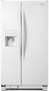 The Whirlpool WRS325FDAW 25.4 Cu. Ft. White Side-By-Side Refrigerator - Energy Star Review
