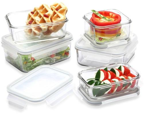 storage food casseroles