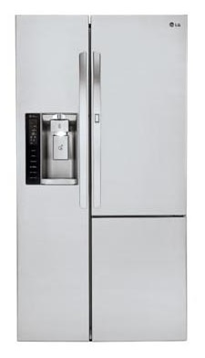 LG LSXS26366S 35-Inch Side by Side 26 Cubic Feet Freestanding Refrigerator Review