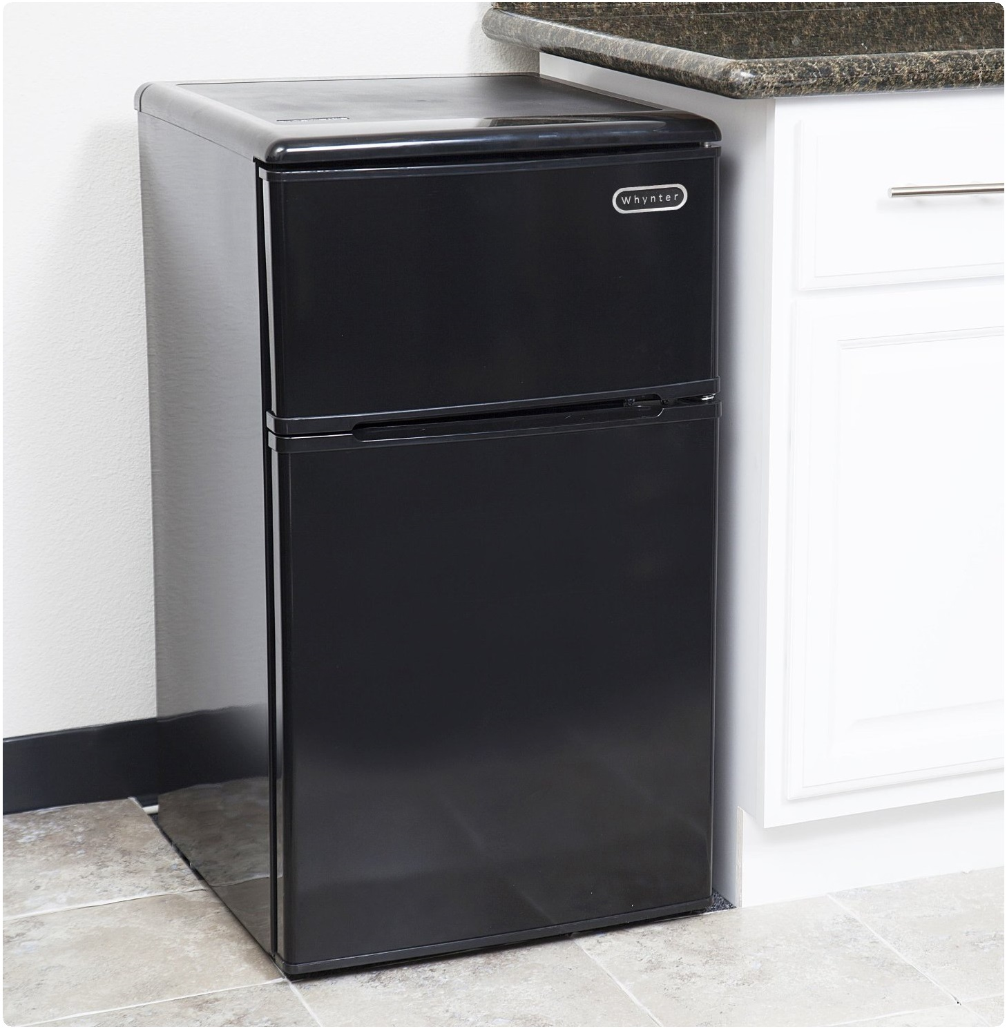 Whynter MRF-310DB Compact Double Door Energy Star Refrigerator kitchen