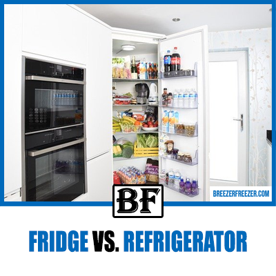 Fridge vs. Refrigerator