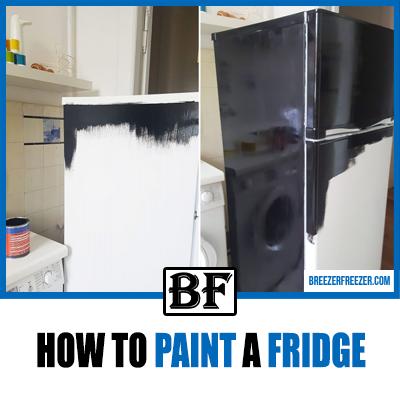 How To Paint A Fridge