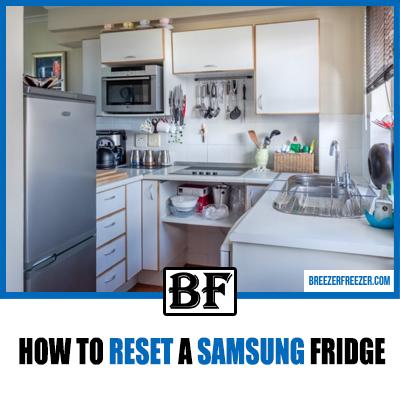 How To Reset a Samsung Fridge