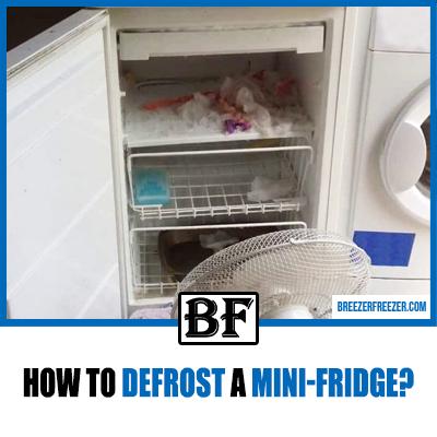 How to defrost a mini-fridge